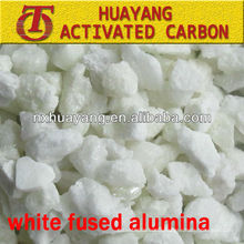 WFA 1.92g/cm3 Bulk density White Fused Alumina reasonable price