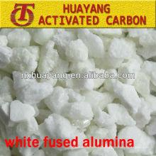 WFA 1,92 g / cm3 Densidade aparente White Alumina fundida preço razoável