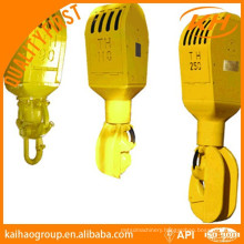 API travelling block hook for drilling rig