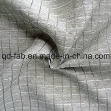 Tissu mélangé de coton en soie de chanvre (QF13-0165)