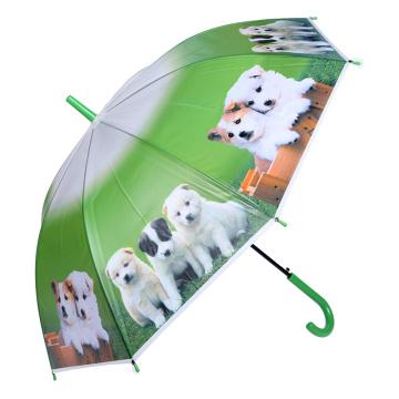Nettes kreatives Tierdruck-Kind / Kinder / Kind-Regenschirm (SK-10)