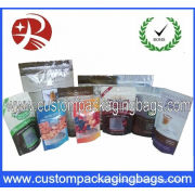 Side Gusset Aluminium Foil Coffee Packaging Bags For 16oz Coffee Beans