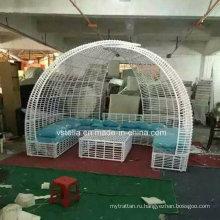 Садовая мебель из плетеной мебели из ротанга