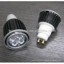 Projecteur à LED haute puissance GU10 4W éclairage à cristaux liquides