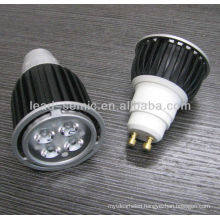 LED high power spotlight GU10 4W led jewelry display lighting