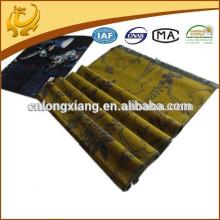 2015 neue Art und Weise chinesische Fabrik preiswerter Preis Jacqaurd Muster Schal Viskose mit Troddel