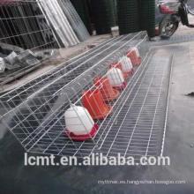 Vertical tipo seis gradas de codornices jaulas para la venta en liaocheng China