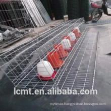 Vertical type six tiers quail cages for sale in liaocheng China