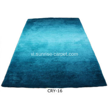 Microfiber Soft Shaggy với Blading Color