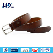 Alloy Buckle material cow hide vintage leather belts