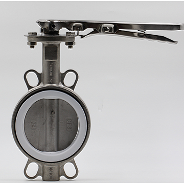 handle level operated water butterfly valve