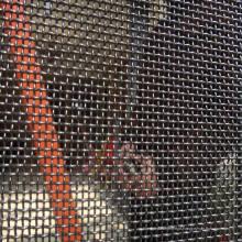 Tela da porta da segurança da malha da janela da tela do alarme do aço inoxidável