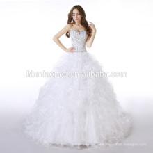 2017 nuevo imperio de diseño por la noche vestido largo vestido de noche vestido de novia elegante vestido de encaje atado vestido de novia