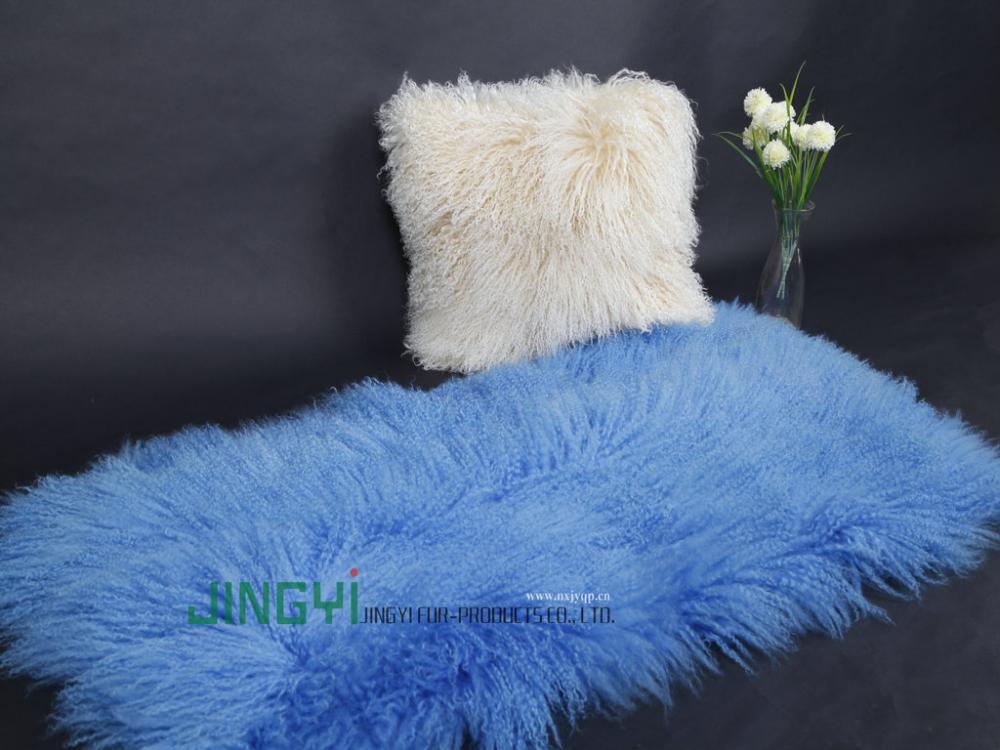 Tibet Lamb Fur Plate