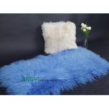 Mongolian Lamb Fur Blanket