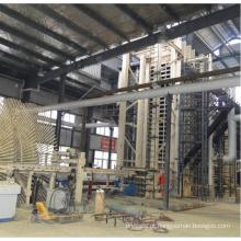 Linha de produção de pisos de madeira MDF