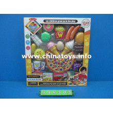 Promotional Gift Kitchen Food Set Toy with Burger, Pizza (948303)