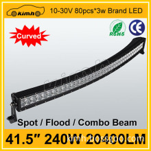 2015 new waterproof 41.5inch 240W energy saving led light bar