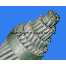 Stranded Bare Conductor Conductor de aluminio de acero Reforzado / ACSR
