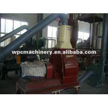 machine for wood flour