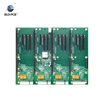 2 camadas 1oz cobre espessura FR4 94v0 placa pcb eletrônico