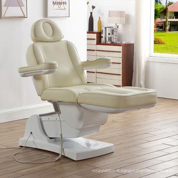 Table de massage faciale électrique