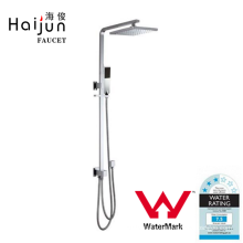 Haijun New Arrival Watermark Single Handle Thermostatic Rainfall Shower Faucet