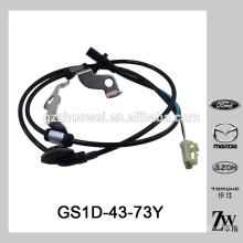 Genuine ATV speed sensor wheel ABS sensor GS1D-43-73Y for MAZDA 6 GH