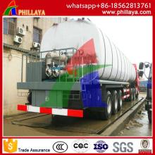 Réservoir de semi-remorque / asphalte de réservoir de bitume de 3 axes 27m3- 57m3