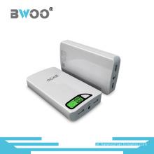 Banco do poder do carregador da emergência de 11000mAh USB com exposição de diodo emissor de luz