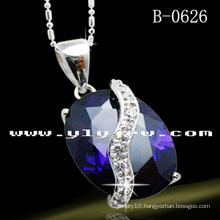 High Quality Oval Fashion Necklace (B-0626)