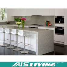 Armoires de cuisine artificielles de quartz pour la vente en gros (AIS-K383)