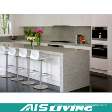 Artificial Quartz Kitchen Cabinets for Wholesale (AIS-K383)