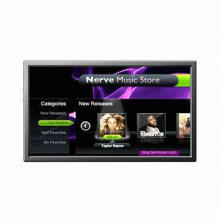 46-inch Interactive Display, 178° Horizontal Viewing Angle, High Contrast Ratio
