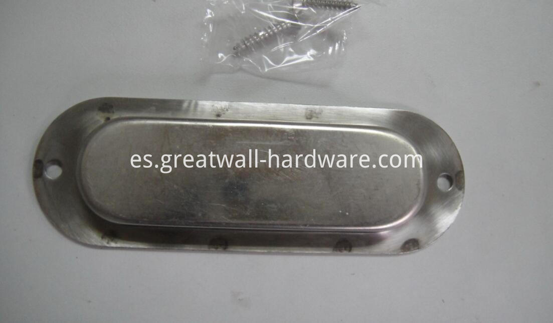 recessed oval flush handle03b