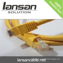 Тесты с кабелем Ethernet cat 6