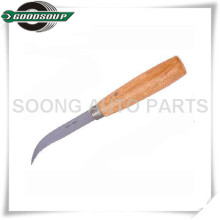 Curved Tire Patch Knifes, Rubber cutter, Taper point knife