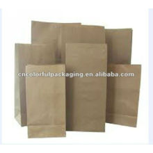 healthy sandwish paper bag/paper food bag/bread packaging paper bags
