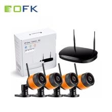 H.265 Wi-Fi беспроводной безопасности Nvr Kit 4шт пуля Wi-Fi IP-камера