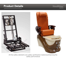 Wooden Armrest Foot Massage Chair (C116-22-S)