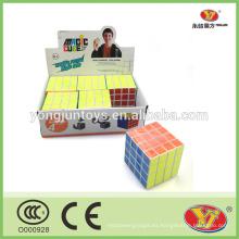 YongJun YJ 4x4 rompecabezas cubo cuadrado mágico con buena calidad