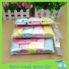 Natural Bamboo Soft Washcloths For Sensitive Baby Skin