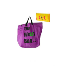 Large Foldable Bag with Drawstring (hbnb-470)