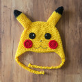Crochet Hat Pickachu Milk Cotton Pokemon Hat