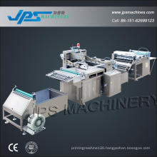 Jps-700ss Automatic Roll Silk-Screen Printing Machine (Printer Machine) with Sheeting Function