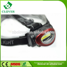 3W cob led waterproof led headlamp