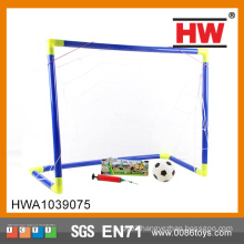 Traning sets soccer goal w/football and pump portable football goal