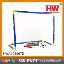 Traning define objetivo de futebol w / futebol e bomba futebol objetivo portátil