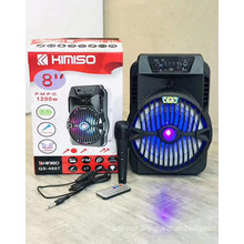 KIMISO QS4807 8 Inch Factory Wireless Speakers Party Big Professional Dj Speaker Outdoor Speaker