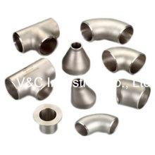 Raccords en tuyaux à souder en acier inoxydable sans soudure avec CE